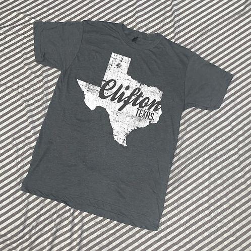 Clifton Texas Cutout