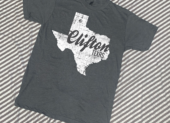Clifton Texas Cutout