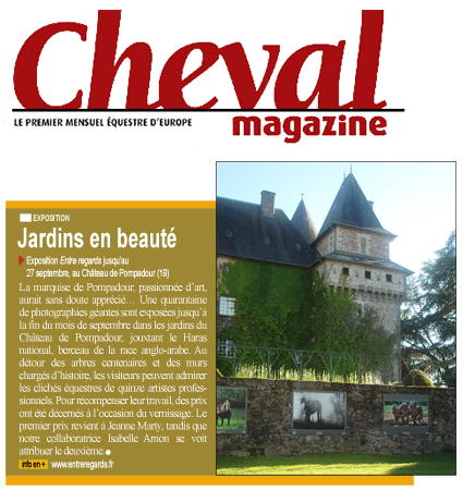 Article Cheval magazine