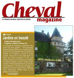 Article Cheval magazine