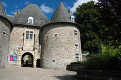 Le jardin du château...