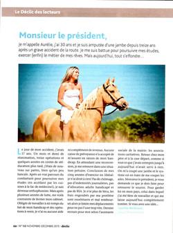 Article d'Aurélie...