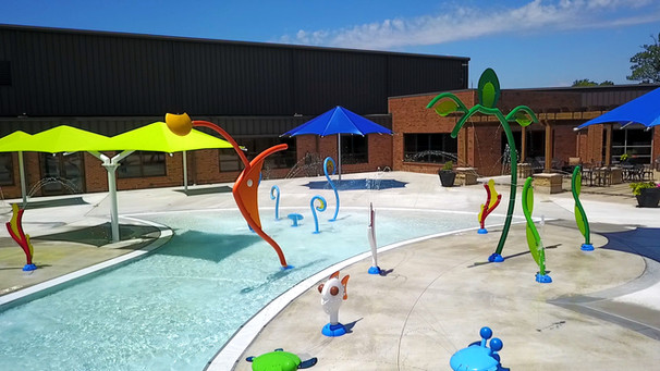 AQ 0108-9 Blue Ash Wading Pool, Blue Ash