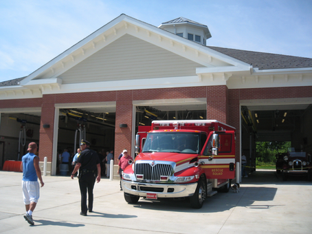SAF 0032-12 Solon Fire Station and town