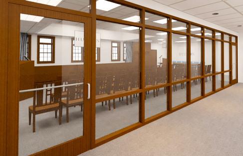 MUN 0055-1 Hudson City Hall, Hudson, OH.