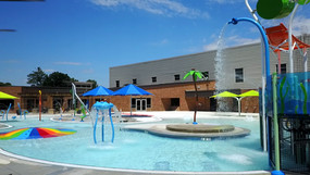 AQ 0108-8 Blue Ash Wading Pool, Blue Ash