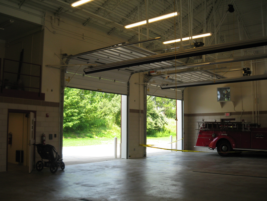 SAF 0032-14 Solon Fire Station and town