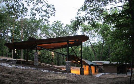 CMP 0043-03 Tamarack Camps Amphitheater.