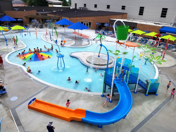 AQ 0108-7 Blue Ash Wading Pool, Blue Ash