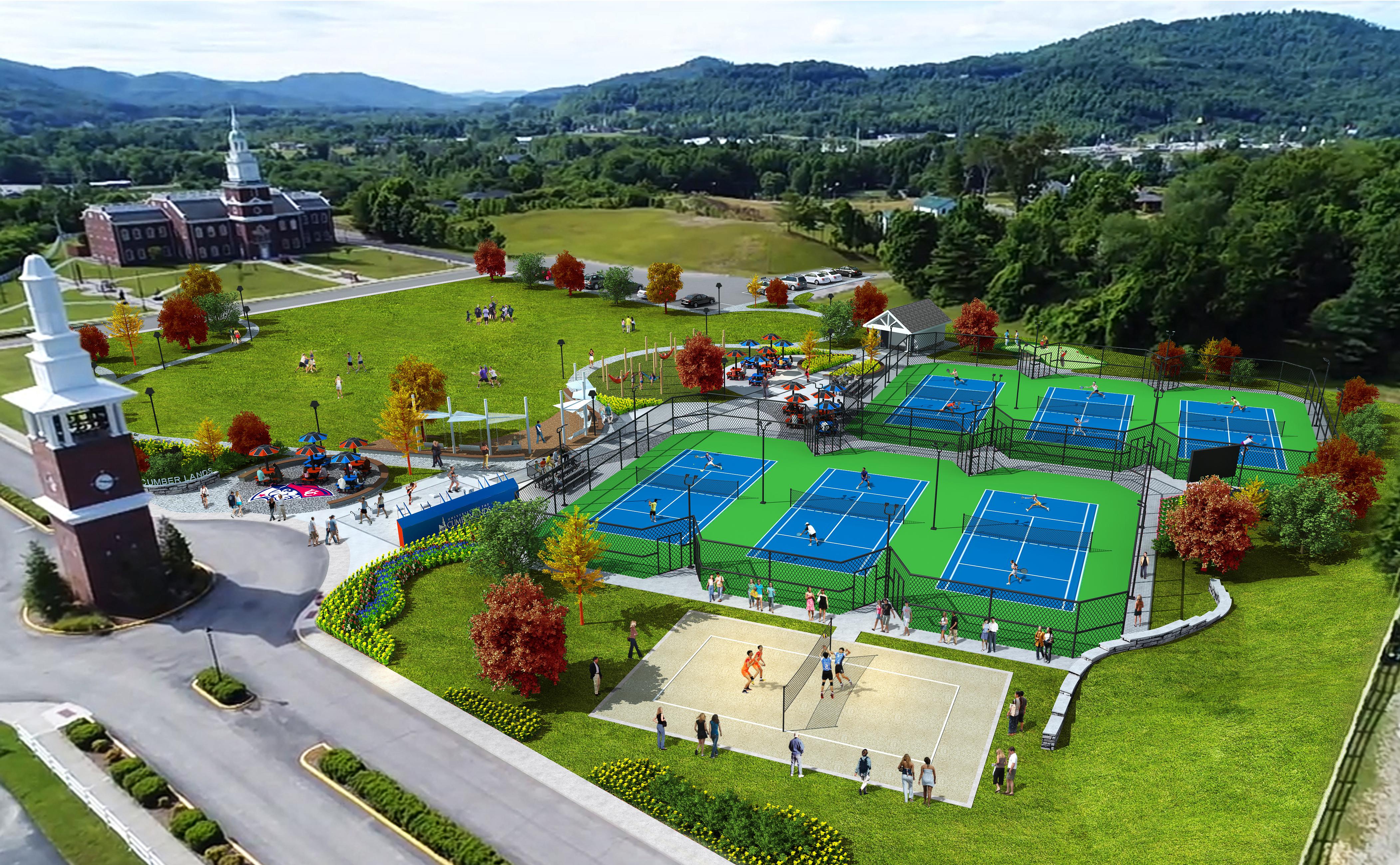 University of Cumberland Tennis Complex