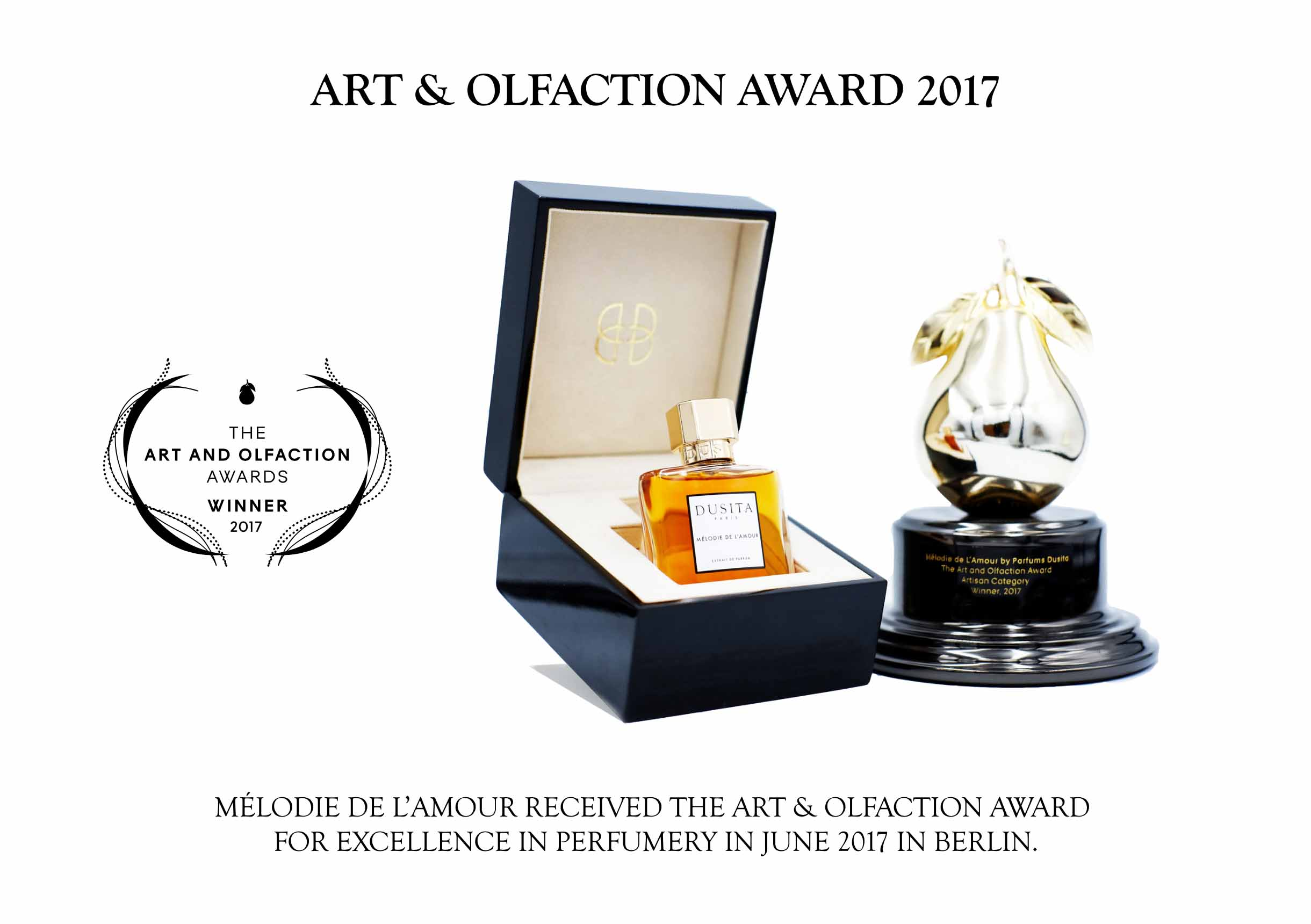 Art & Olfaction Award 2017 Parfums Dusit