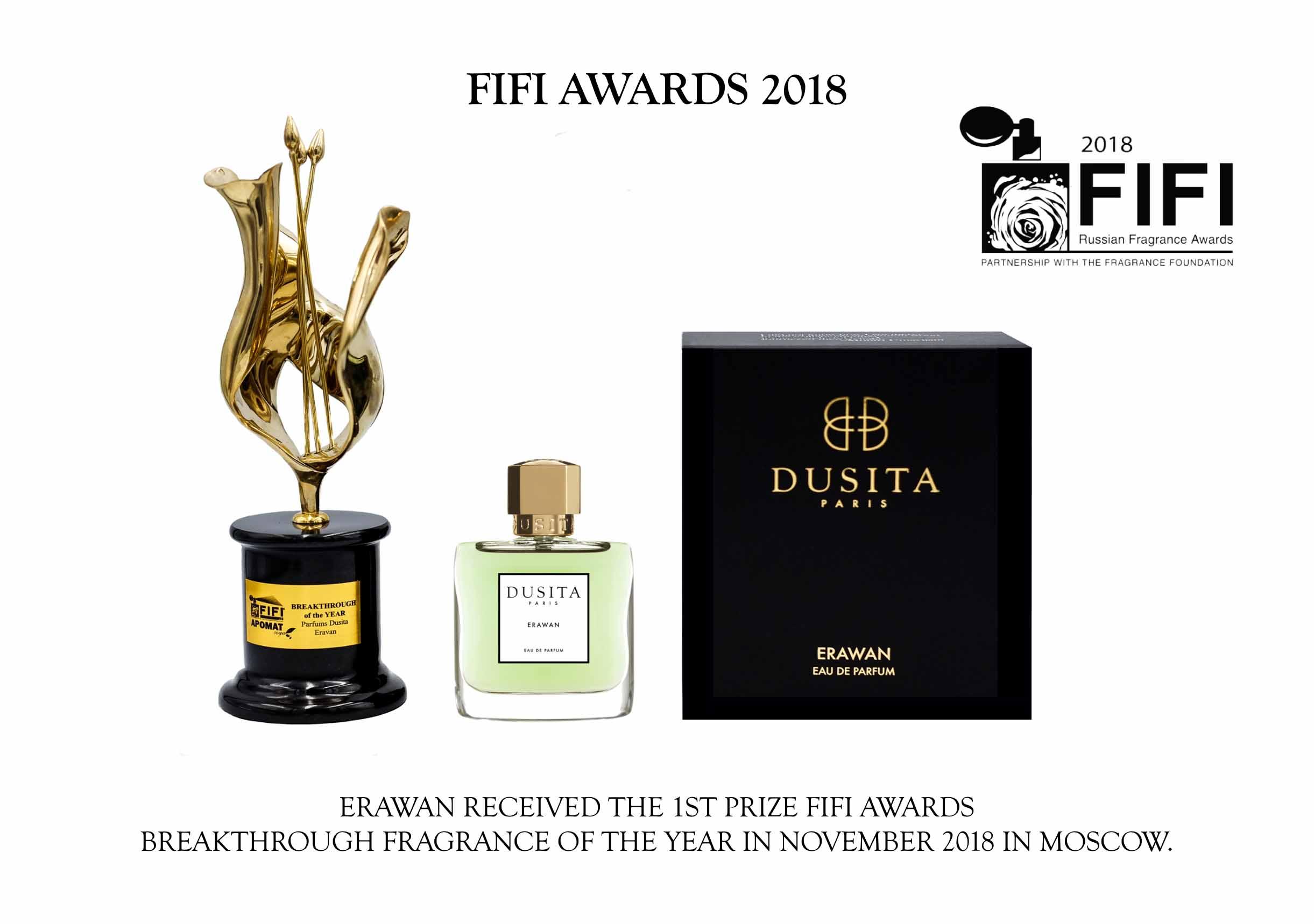 FiFi Award 2018 Parfums Dusita LD