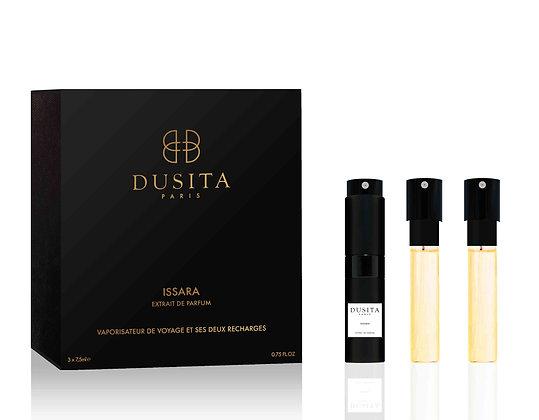 Issara Travel Spray Bottle + 2 Refills