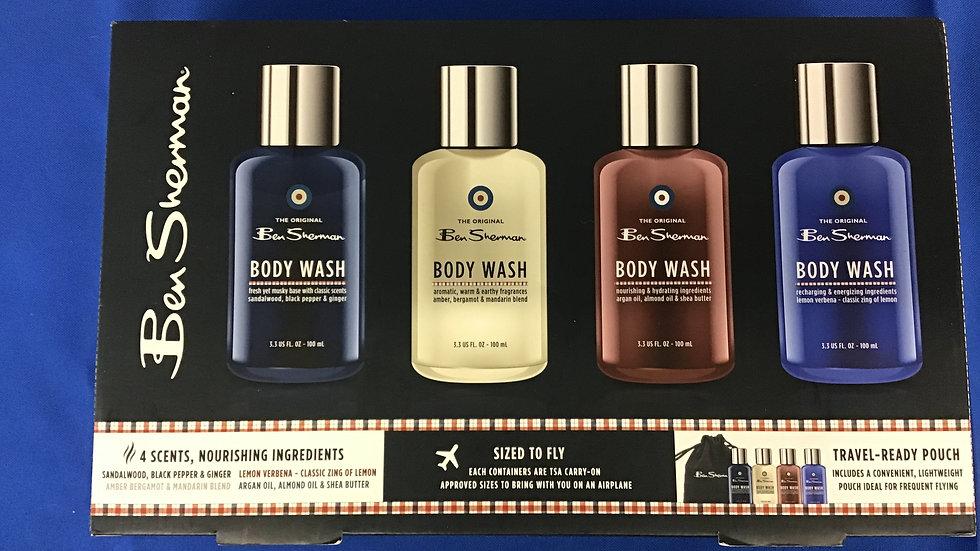 Ben Sherman travel size bath set W