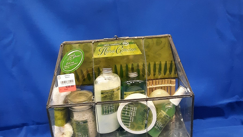 Herbal Collection in real glass case W