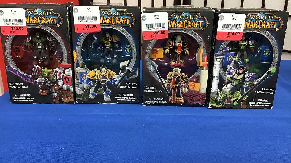 World Warcraft mega blocks new W