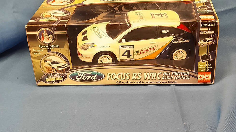 Ford Focus remote car