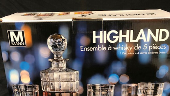 Highland 5pc Whiskey Set