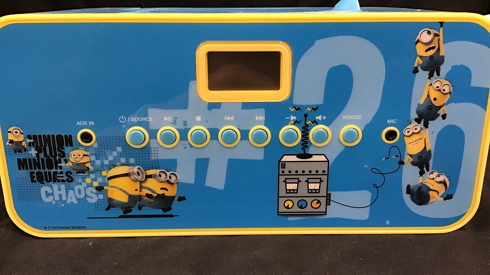 Despicable Me Portable Radio CD Player