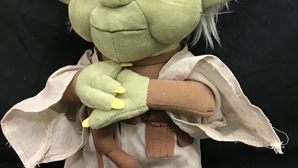 Disney Store stuffed Star Wars Yoda doll