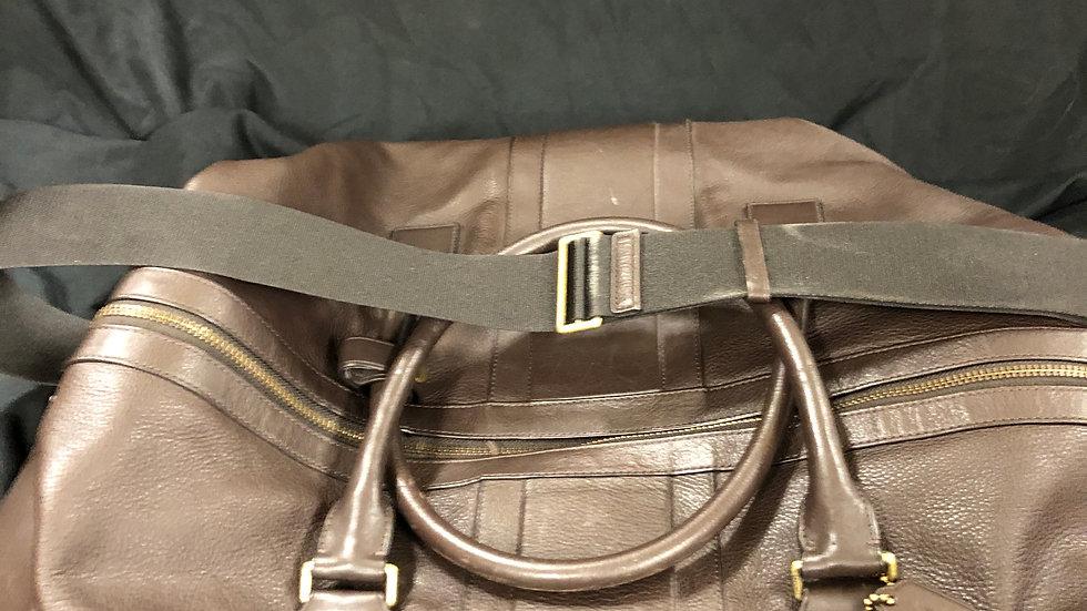 Coach Travel Bag (dark brown)