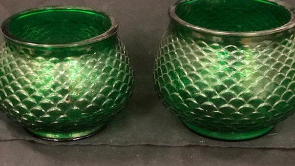 Green bowls E.O Brody Cleveland USA