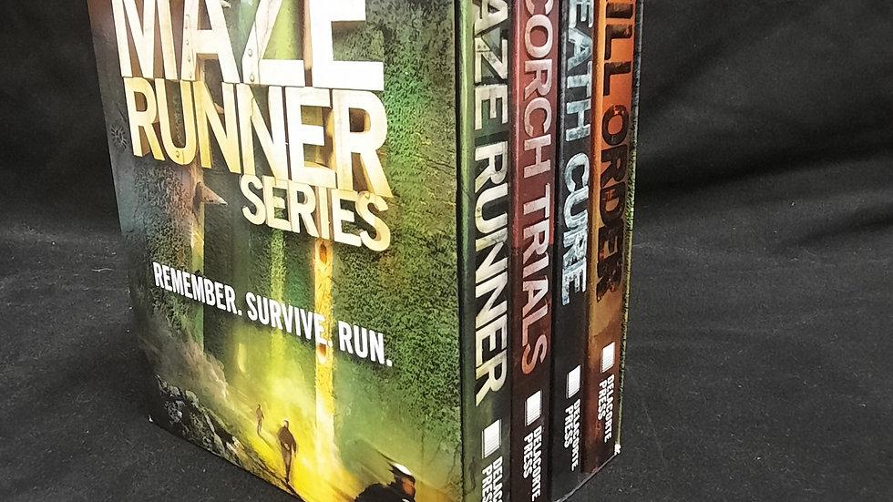 The Maze Runner 4 book Set