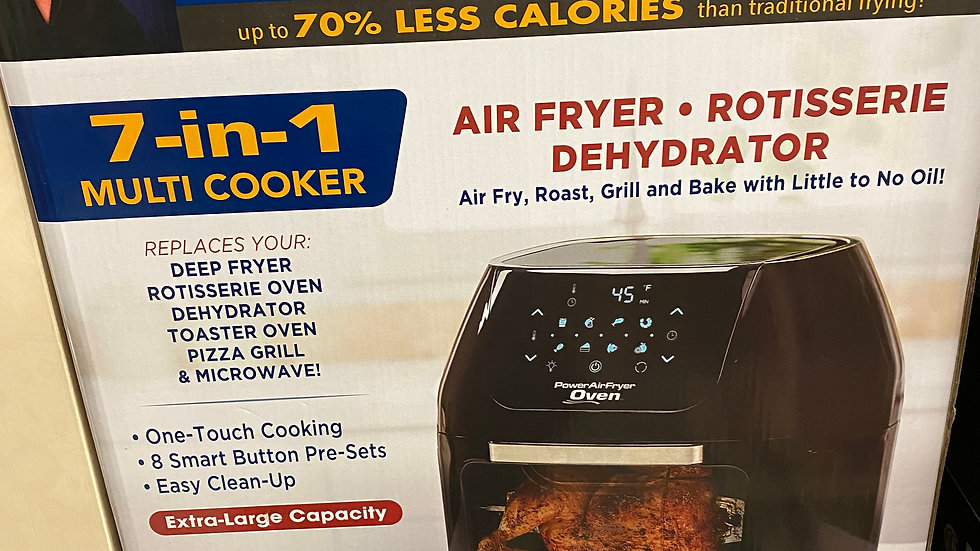New 7 in 1 Air Fryer Oven #