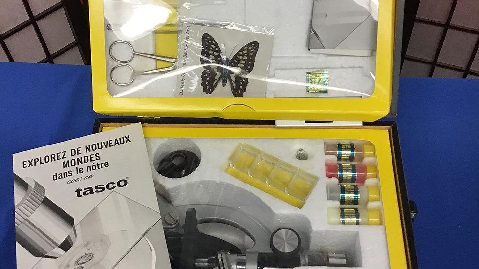 Tasco deluxe microscope kit W