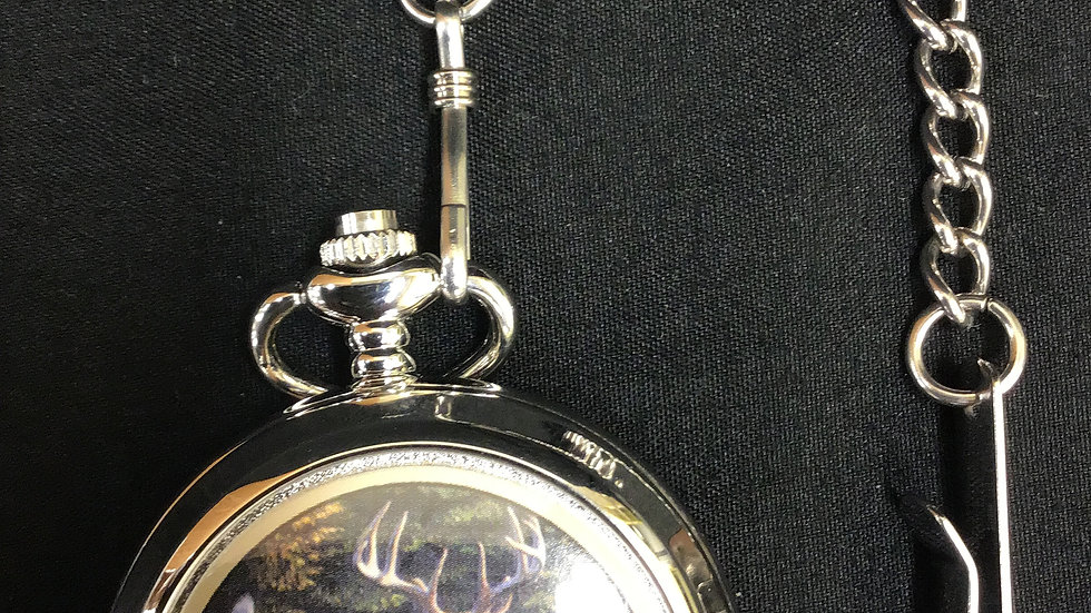 Pocket Watch Al Agnew Deer Pocket Watch