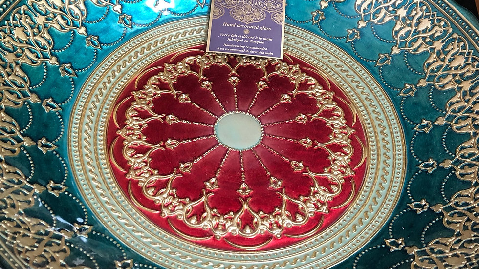 Large glass dish. In excellent condition.
