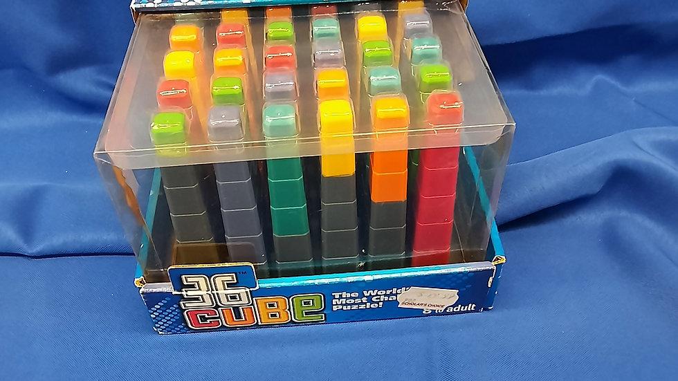 36 cube puzzle W