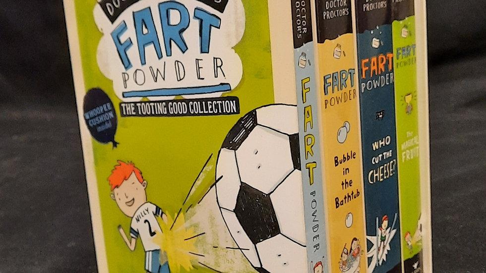 Jo Nesbo Doctor Proctor fart powder book series