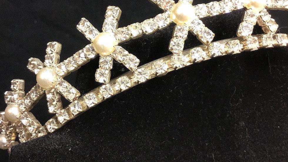 Faux silver/diamond Tiara