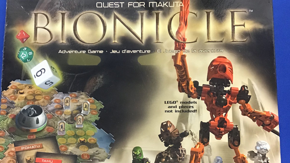 New bioNicle adventure game W