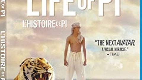 Life of Pi - L'histoire de Pi [Blu-ray + DVD + Digital Copy] (Bilingual)