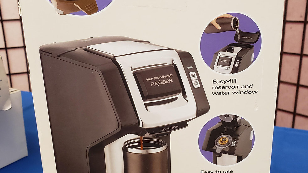Hamilton Beach single serve plus coffee maker W