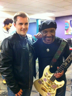 Ernie Isley & me