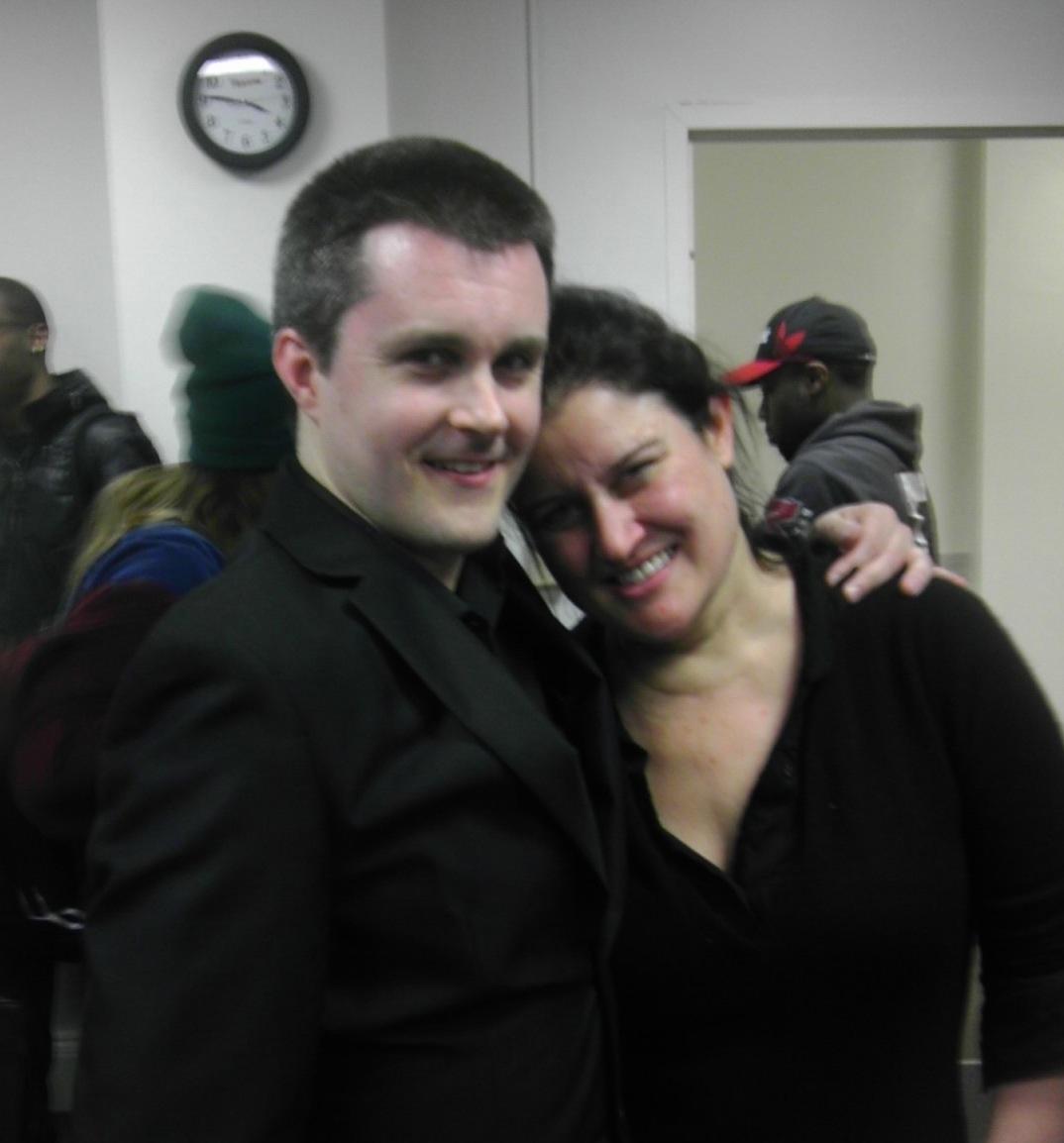 Paula Cole & me.