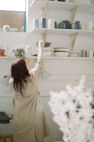 Meet one half of the husband and wife duo behind this Boston-based ceramics studio. We adore all of their wares and love how versatile an...