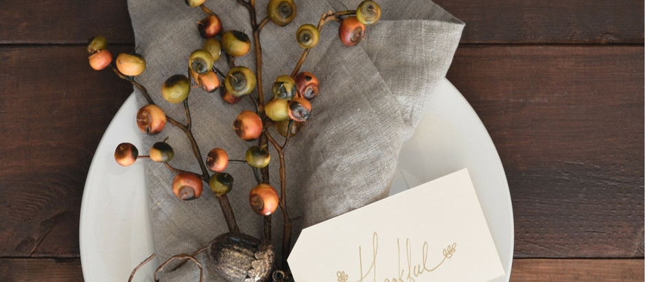 Hello, September: Styling Your Fall Tablescape