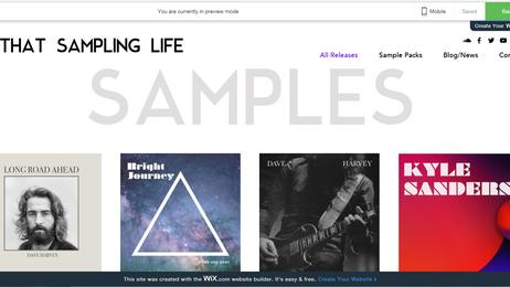 """Creating """"That Sampling Life"""""""