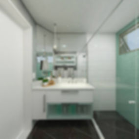 3D do banheiro do casal