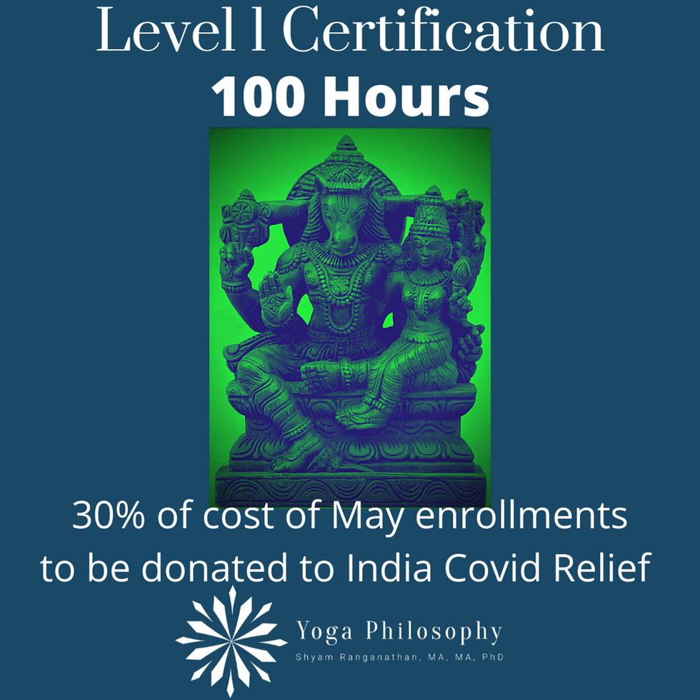 Level 1 Certification India Covid 30%.pn
