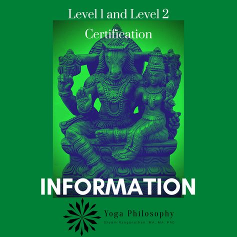 Level 1 and Level 2 Certification Information