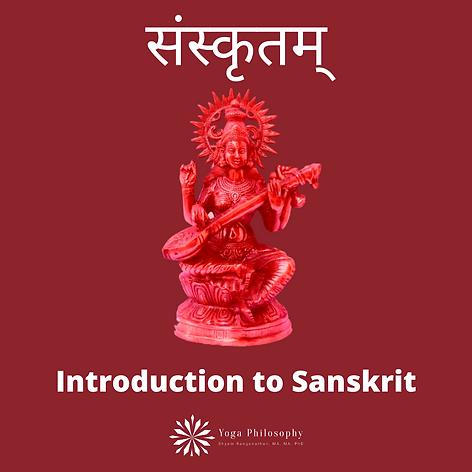 Introduction to Sanskrit