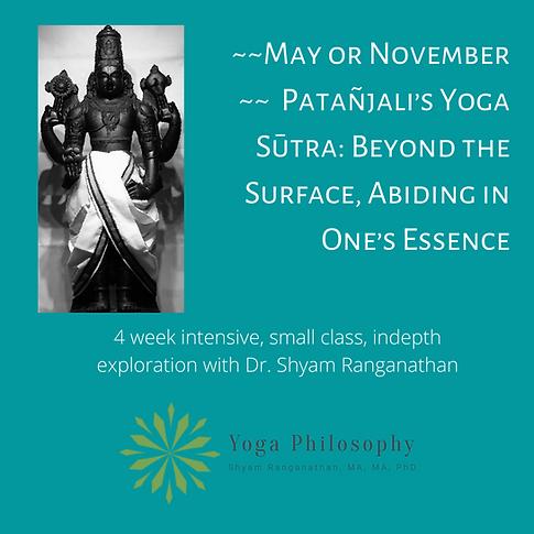 Patañjali's Yoga Sūtra