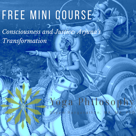 Consciousness and Justice: Arjuna's Transformation