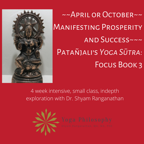 Manifesting Prosperity and Success: Patañjali's Yoga Sūtra: Focus Book 3