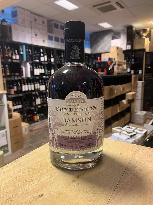 Foxdenton Gin Liqueur Damson